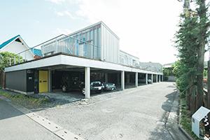 栃木県宇都宮市のフォトスタジオ、イマピクトの外観。