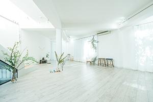 栃木県宇都宮市のフォトスタジオ、イマピクトの1Fスタジオスペース