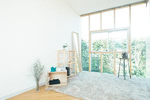 栃木県宇都宮市のフォトスタジオ、イマピクトの2Fスタジオスペース。