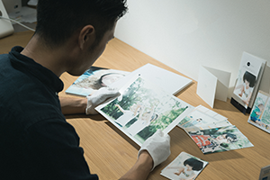 栃木県宇都宮市のフォトスタジオ、イマピクト。写真仕上げへのこだわり。色チェック。