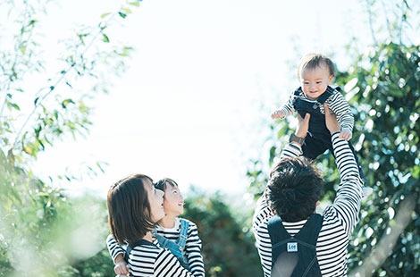 栃木県宇都宮市のフォトスタジオ、イマピクトの家族写真