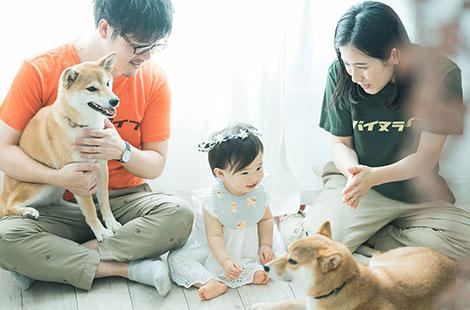 栃木県宇都宮市のフォトスタジオ、イマピクトのペット写真