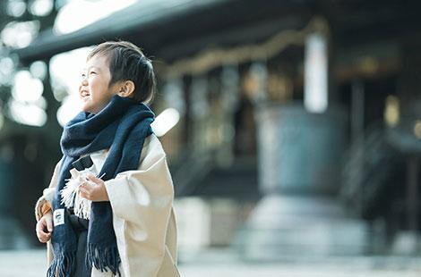 栃木県宇都宮市のフォトスタジオ、イマピクトの5歳七五三