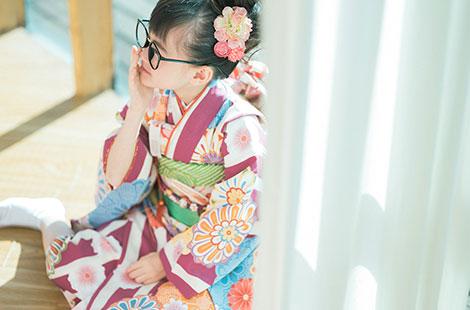 栃木県宇都宮市のフォトスタジオ、イマピクトの7歳七五三