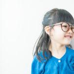 ゆらちゃん5歳、メガネがおしゃれ