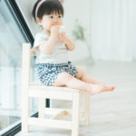 1歳バースデー!おやつを食べる - 宇都宮のフォトスタジオ イマピクトで