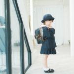 入園記念撮影、園児服で - 宇都宮のフォトスタジオ イマピクトで