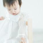 1歳バースデー!白いドレスで - 宇都宮のフォトスタジオ イマピクトで