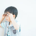 キッズ、4歳バースデー!おしゃれ眼鏡で - 宇都宮のフォトスタジオ イマピクトで