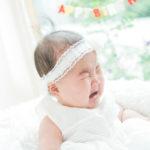 6ヶ月、ハーフバースデー!泣き顔で - 宇都宮のフォトスタジオ イマピクトで