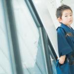 5歳七五三!真剣な眼差し - 宇都宮のフォトスタジオ イマピクトで