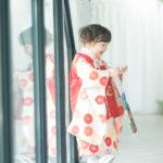 3歳七五三!千歳飴の袋を持って - 宇都宮のフォトスタジオ イマピクトで
