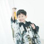 5歳七五三!長曽根虎徹を持って - 宇都宮のフォトスタジオ イマピクトで
