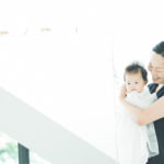ベビー、ママに抱っこされて。癒やされる - 宇都宮のフォトスタジオ イマピクトで