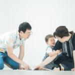 キッズ、1歳バースデー!家族の時間 - 宇都宮のフォトスタジオ イマピクトで