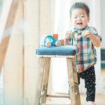 キッズ、1歳バースデー!おもちゃで遊ぶ - 宇都宮のフォトスタジオ イマピクトで