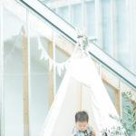キッズ、1歳バースデー!ティピーテントにちょこんと - 宇都宮のフォトスタジオ イマピクトで