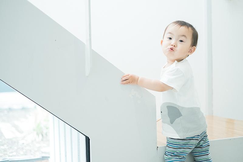 がくくん、1歳6ヶ月!いろいろな表情を見せてくれる、かわいい
