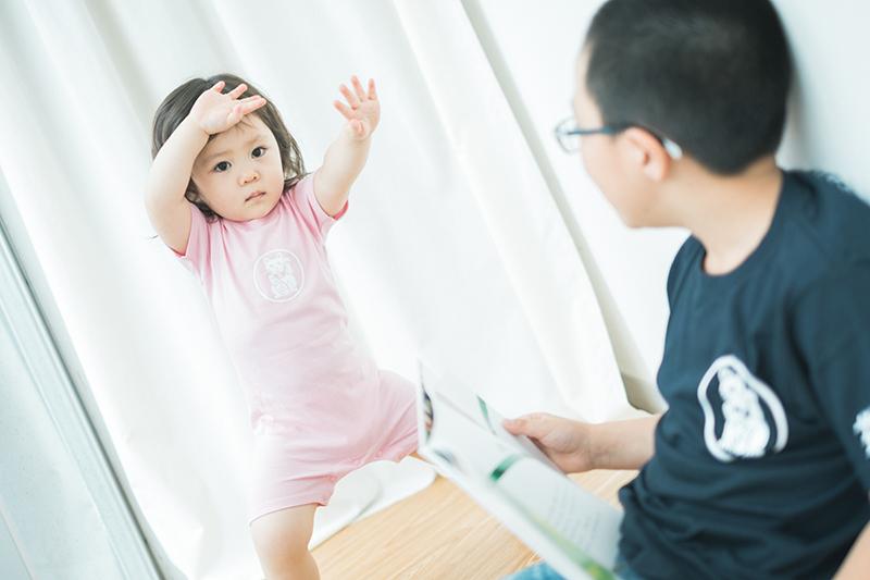たまきちゃん、2歳キッズ、バースデー!はらぺこあおむしダンス?