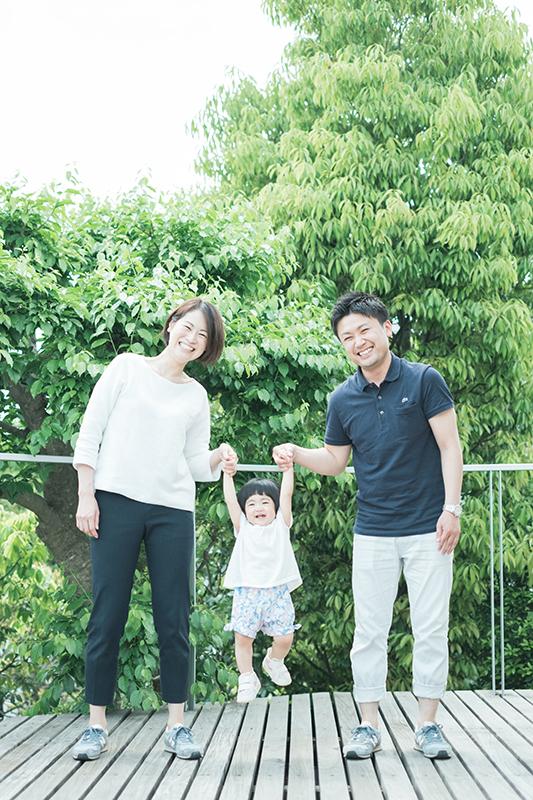 ひよちゃんファミリー、家族写真