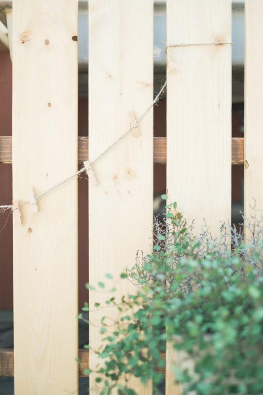庭先DIY、ディティールの色を濃くしていきます