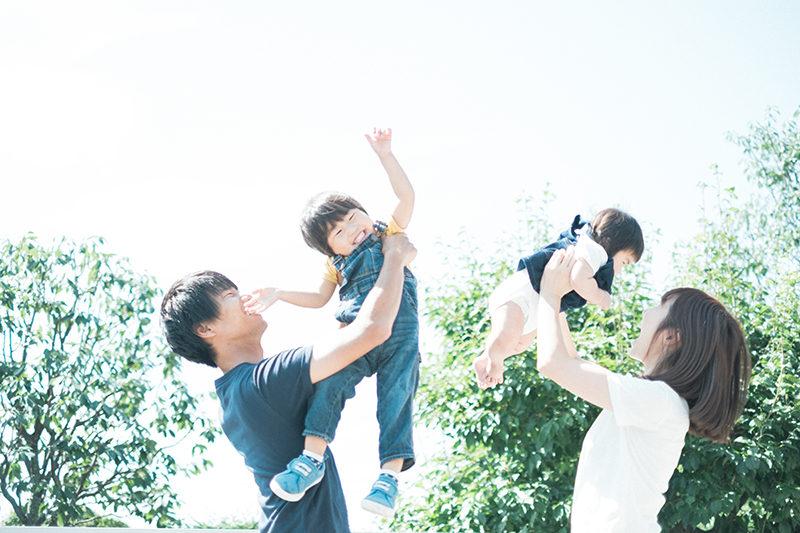 せなちゃん、6ヶ月!ハーフバースデー。家族写真、たかいたかい!