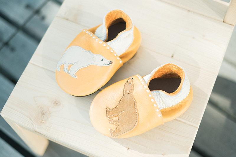 りくくん、1歳バースデー!初めての可愛い靴