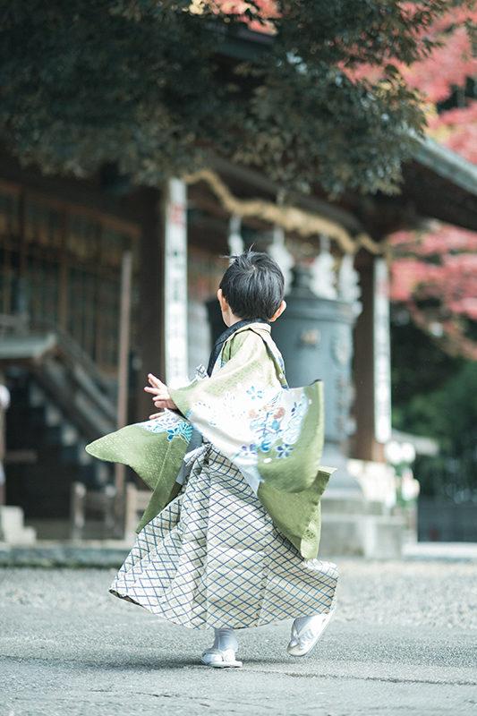 宇都宮二荒山神社、七五三出張ロケーション撮影!5歳七五三、ゆうとくん