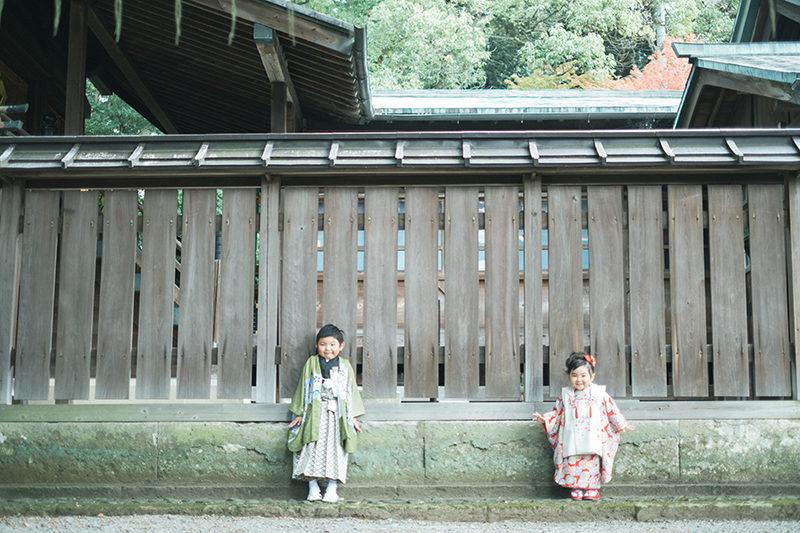 宇都宮二荒山神社、七五三出張ロケーション撮影!兄弟写真2