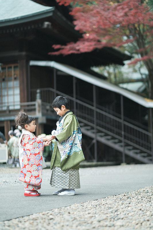 宇都宮二荒山神社、七五三出張ロケーション撮影!兄弟で七五三