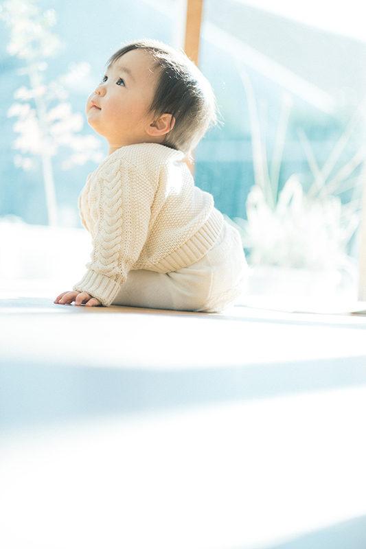 ふゆちゃん、1歳バースデー!表情がかわいい