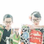 5歳、7歳七五三、モダンでおしゃれな着物 - 宇都宮のフォトスタジオ イマピクトで