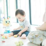 バースデーフォト、お気に入りのおもちゃと - 宇都宮のフォトスタジオ イマピクトで