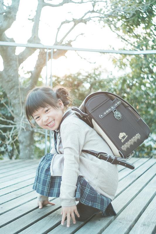 入学、ランドセル、まなちゃん!
