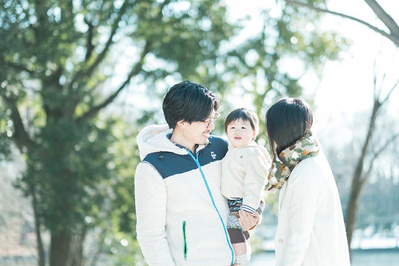栃木県中央公園、公園ロケフォトDAY!家族写真