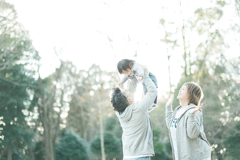 栃木県中央公園、公園ロケフォトDAY!家族写真13
