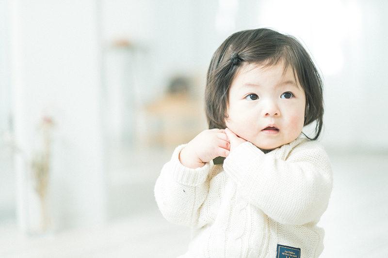 1歳バースデー、かえでちゃん!可愛い