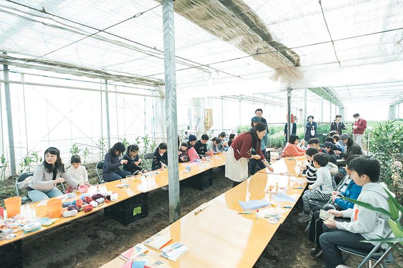 宇都宮ユリハウス オープンデイズ、イベントスナップ撮影、花育イベント