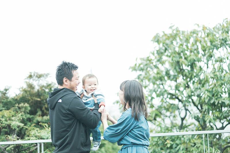 バースデーフォト、 !家族写真