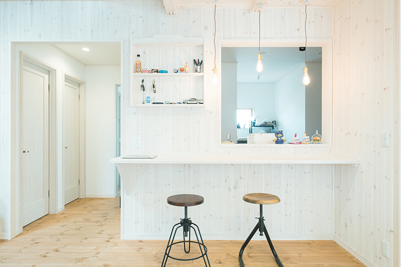 栃木県宇都宮市ハウスメーカー様、法人向け住宅撮影。住宅内観、DK