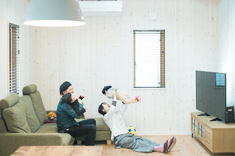 栃木県宇都宮市ハウスメーカー様、法人向け住宅撮影。生活風景