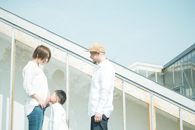 マタニティフォト!家族写真