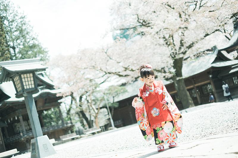 宇都宮二荒山神社、3歳七五三、りおんちゃん!