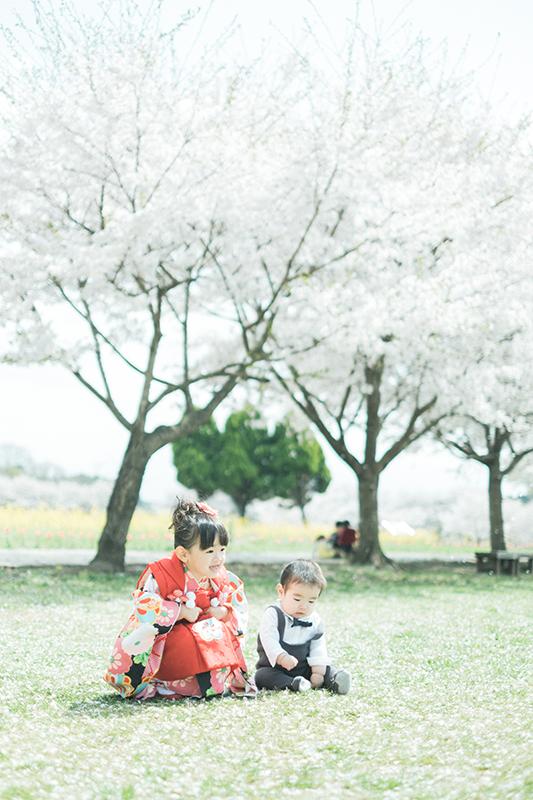 栃木県の出張撮影、七五三ロケ