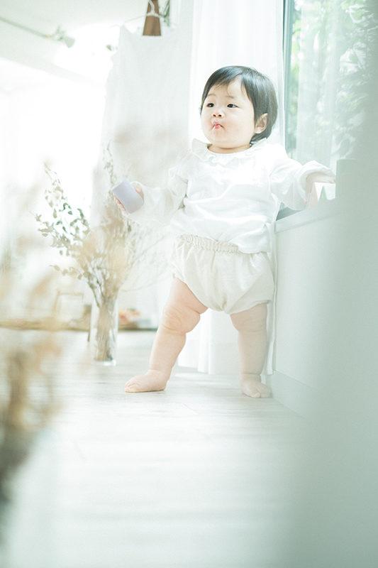 1歳バースデー、になちゃん!