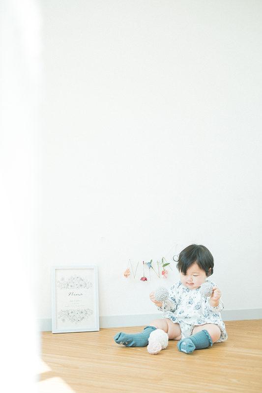 1歳バースデー、になちゃん!可愛いアイテムと