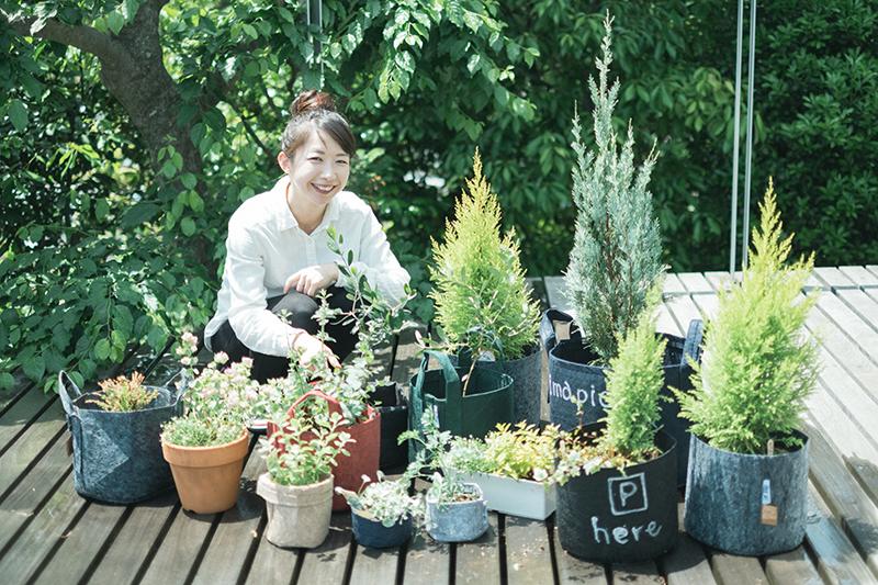 植物の植え替え完了