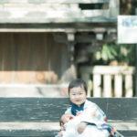 お宮参り、宇都宮二荒山神社出張撮影、兄弟写真 - 宇都宮のフォトスタジオ イマピクト