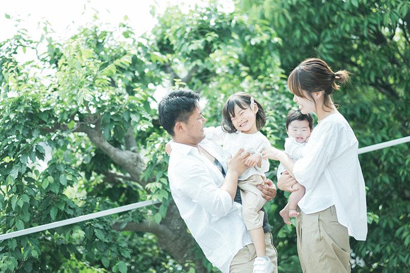 ひなちゃん、さなちゃん、家族写真!