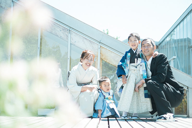 3歳七五三、5歳七五三、家族写真!